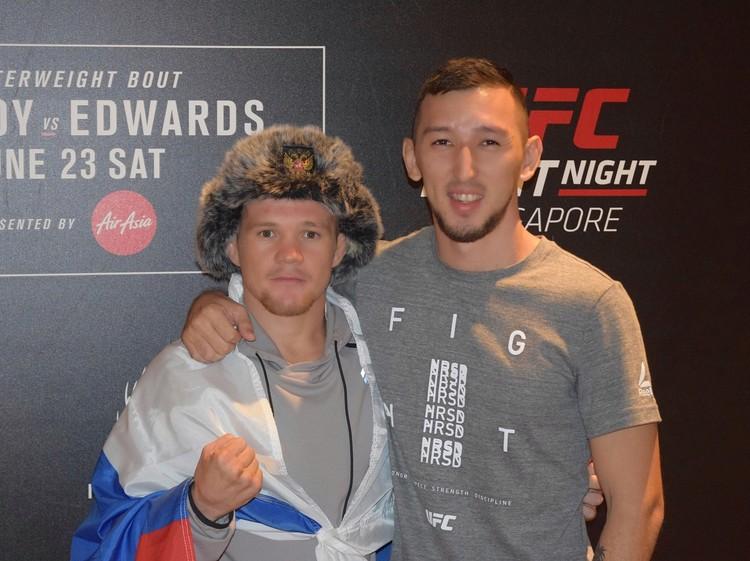 №3 рейтинга UFC в легчайшем весе российский боец Петр Ян, интересы которого представляет Саят Абдрахманов.