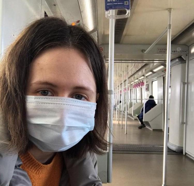 Мария надеется, что эпидемия коронавируса скоро пойдет на спад.