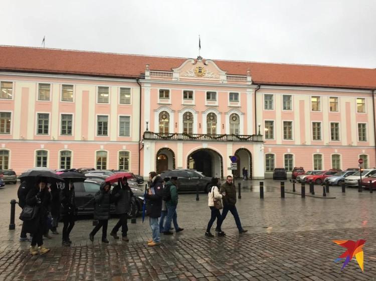 Здание парламента Эстонии.