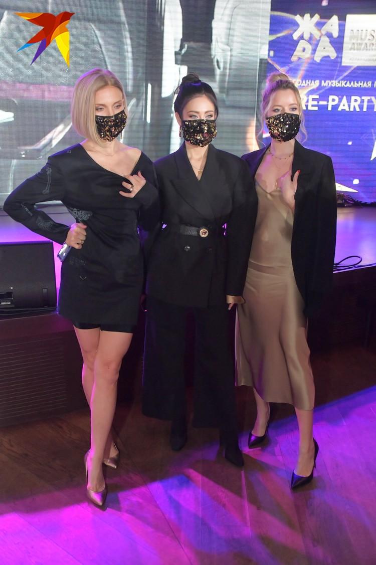 Солистки «Фабрики» на препати премии «Жара Music Awards»