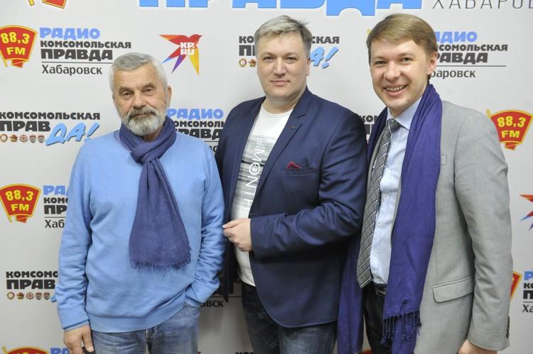 Вадим Паршуков, режиссер-постановщик и Константин Зайнулин, директор музыкального театра