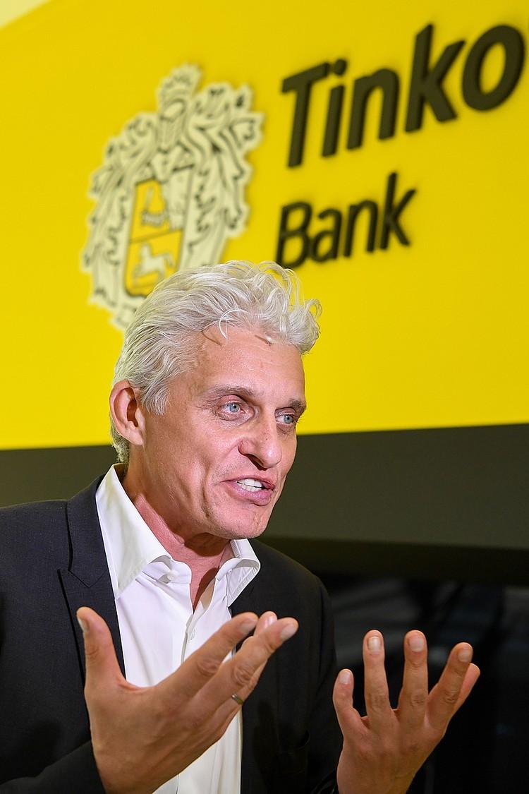 Владелец первого в нашей стране банка с исключительно дистанционным обслуживанием «Тинькофф банк», сделал сенсационное заявление. Фото : Донат Сорокин/ТАСС