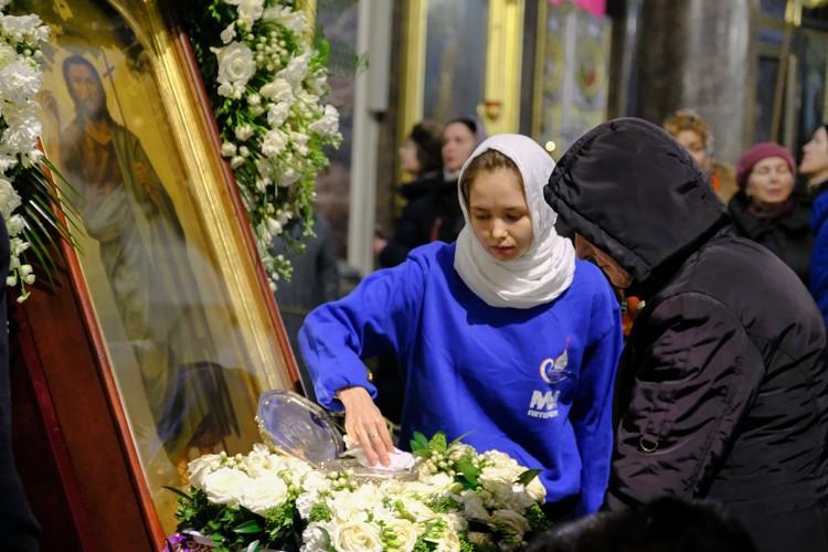 Приложиться к мощам Иоанна Крестителя в Казанском соборе можно до 17 марта.