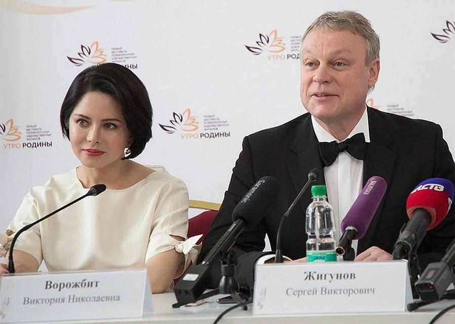 Новая подруга женатого Сергея Жигунова - копия Анастасии Заворотнюк