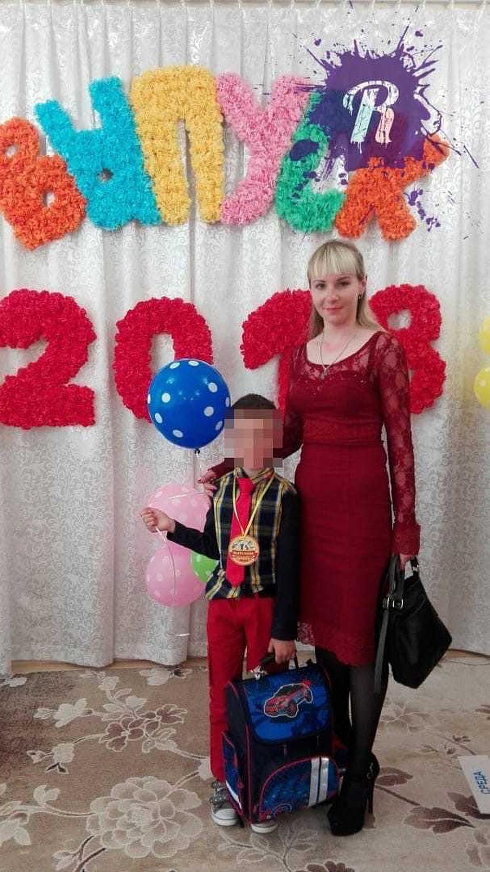 У Полины осталось трое детей, младшей дочке около полугода. Фото: vk.com