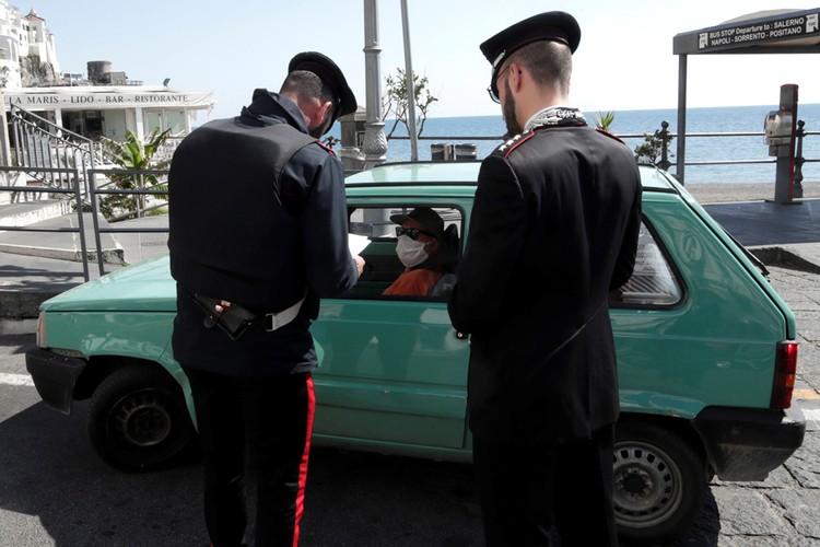 Нарушителей карантина ловит полиция