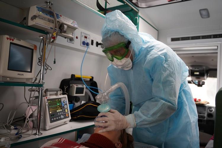Аппарат искусственной вентиляции легких всегда наготове