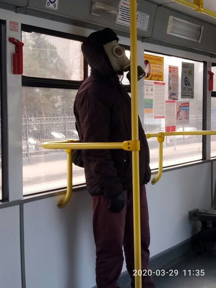 В общественном транспорте от вида таких пассажиров жутковато.