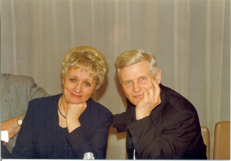 С будущей супругой - Лидией Сергеевной Михаил Федосеев познакомился еще в институте