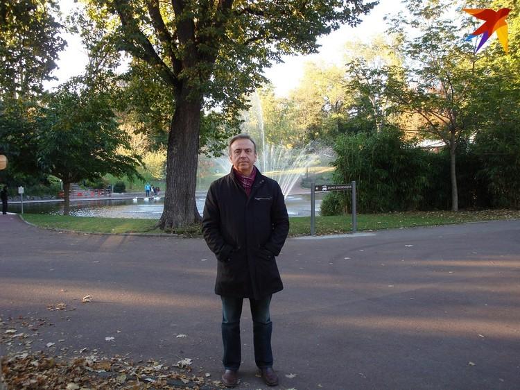 - Я очень обеспокоен за белорусов, у многих сниженный иммунитет, и у меня в Минске две дочери. Фото: личный архив.