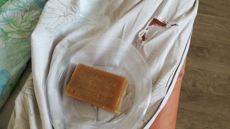 Постояльцам выдали «винтажное» мыло.