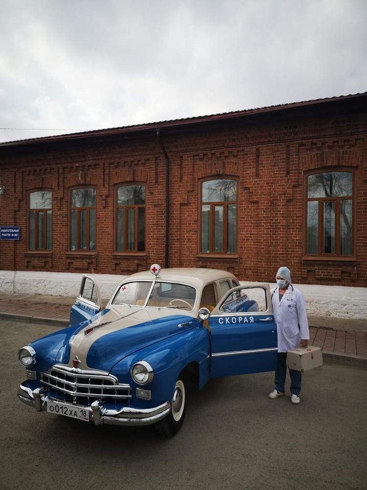 ГАЗ-12 выпускали до конца 50-х годов прошлого века. Фото: пресс-служба ЦГБ Сысерти