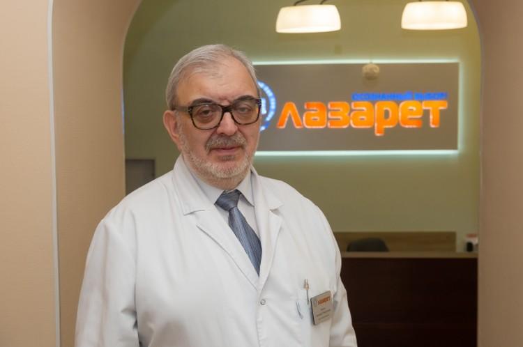 Психиатр-нарколог, заместитель главного врача клиники «Лазарет» Евгений Рысин.