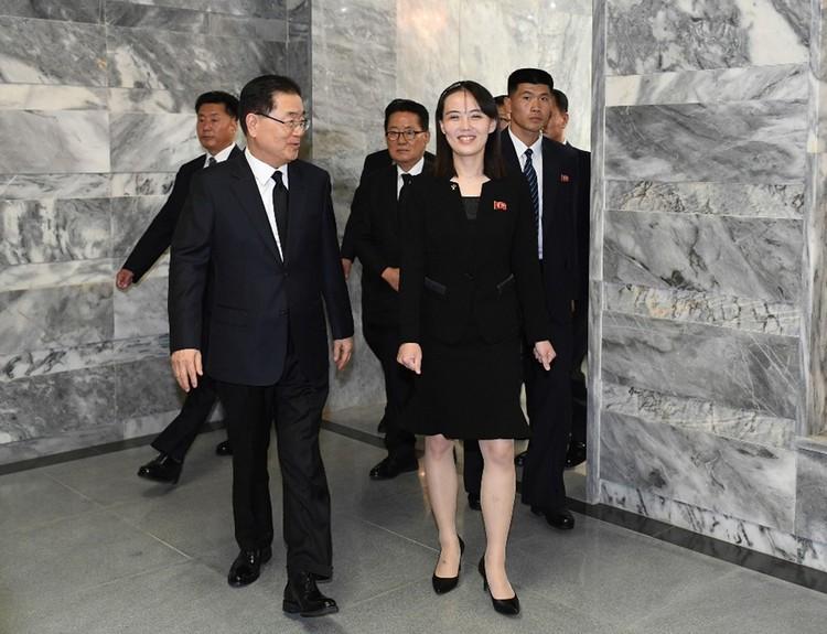 Эксперты называют Ким Ё Чжон «более проамерикански настроенной»