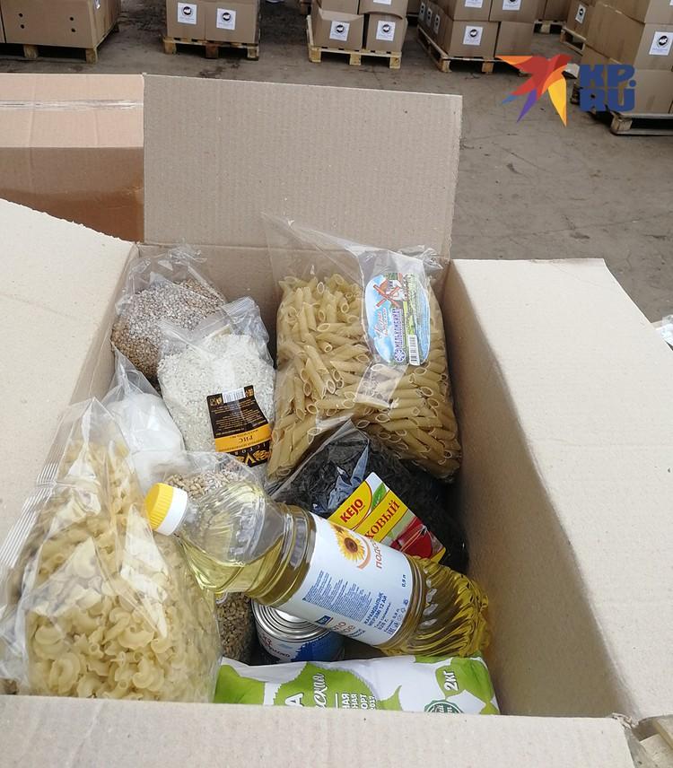 ФМР к закупке продовольствия подошли грамотнее, чем их коллеги: в наборах только продукты длительного хранения