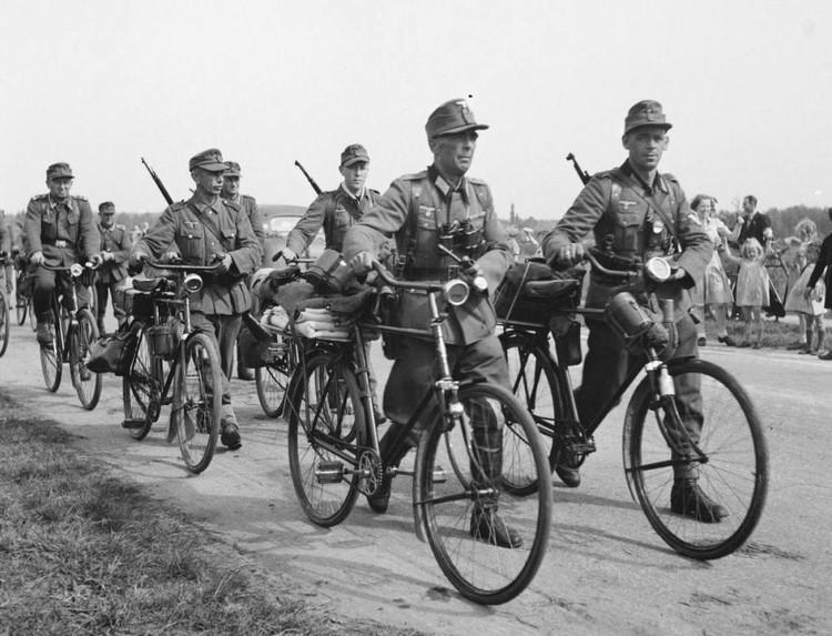 Велосипеды Truppenfahrrad были на вооружении немецкой армии