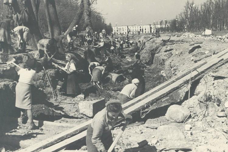 Восстановление Петергофа. Фото: ГМЗ «Петергоф»