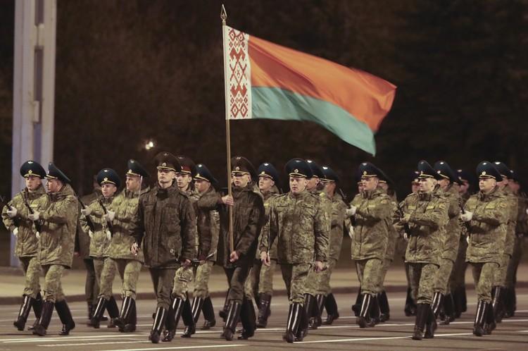 Репетиция парада в Минске. Фото: Наталия Федосенко/ТАСС