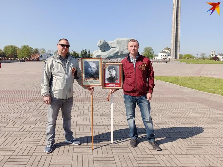 Братья в этом году решили не нарушать традицию приходить в крепость 9 Мая, но из-за коронавируса оставили семьи дома.
