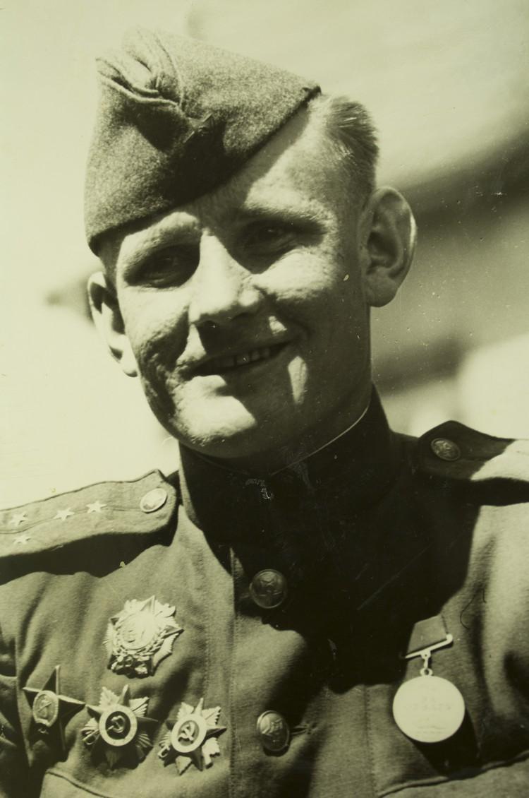 Степан Неустроев. Берлин. Май 1945-го