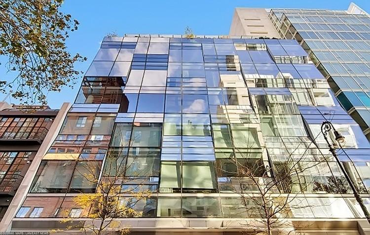 Апартаменты Ирины расположены в элитном доме на Манхэттене.