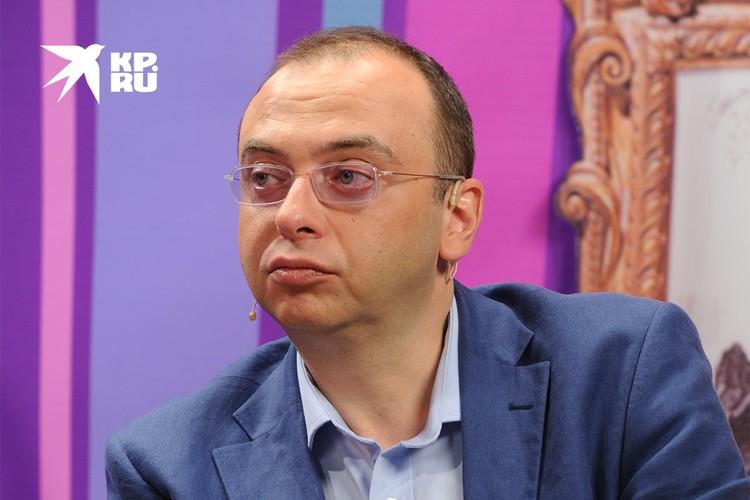 Художественный руководитель «Геликон-Оперы» Дмитрий Бертман.