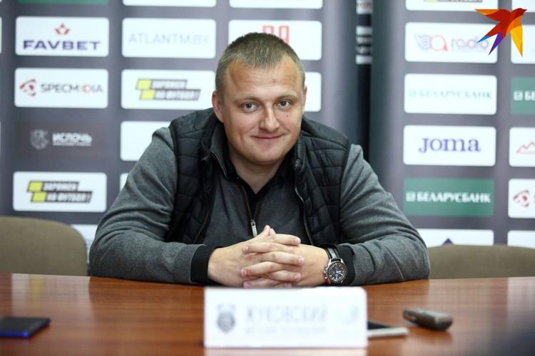 Жуковский Виталий на послематчевой пресс-конференции объявил, что в конце сезона покидает команду.
