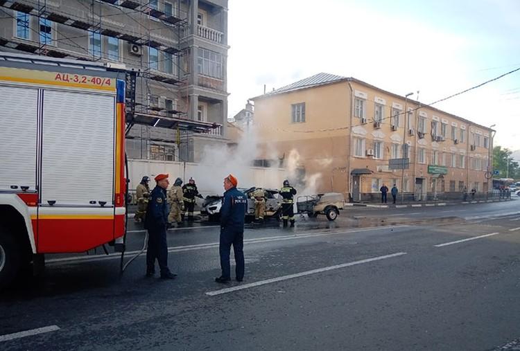"""К счастью, в результате пожара никто не пострадал. ФОТО: Группа """"Кстати"""""""