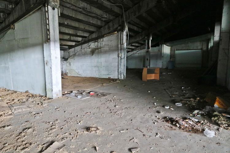 А если забраться под трибуны со стороны вокзала, и вовсе найдешь «мечту сталкера» - множество странных, полуразрушенных помещений.