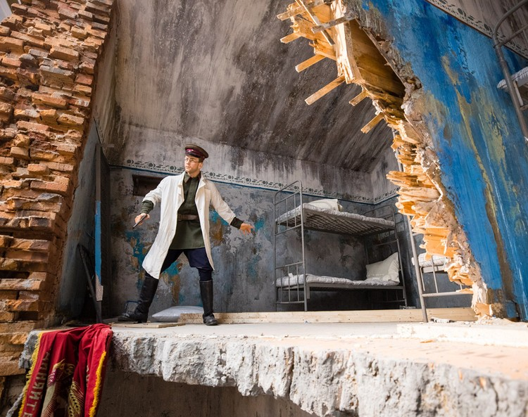 Экспозиция рассказывает о судьбах защитников Брестской крепости. Фото: пресс-служба Музея Победы