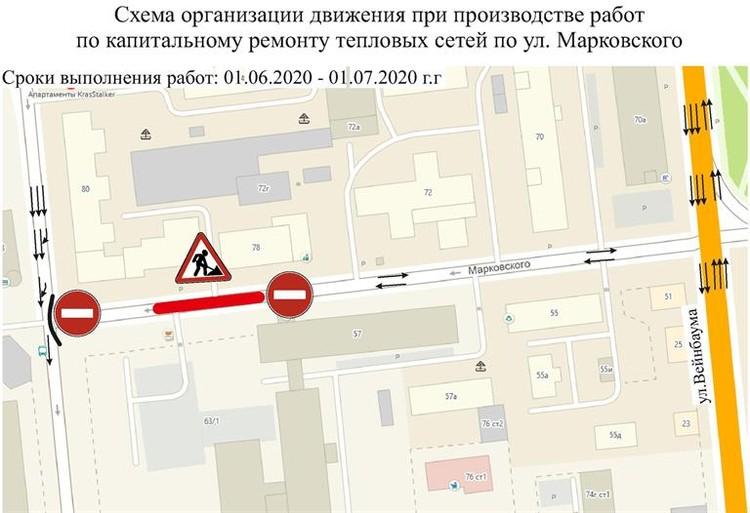 Улица Марковского.