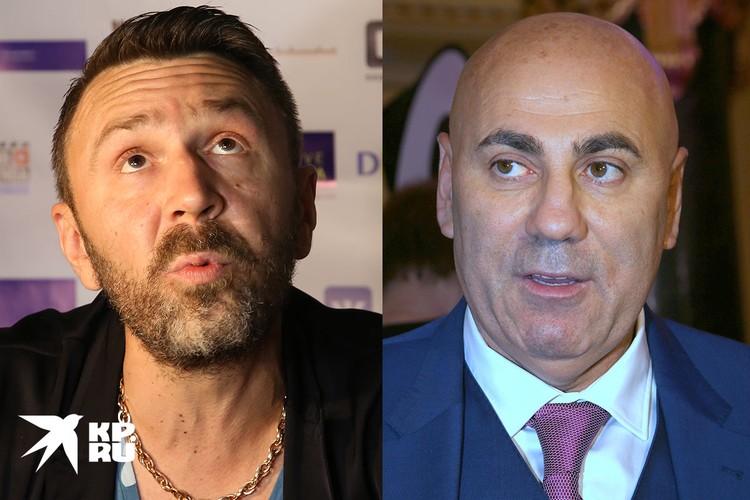 Иосиф Пригожин и Сергей Шнуров обменялись колкостями.