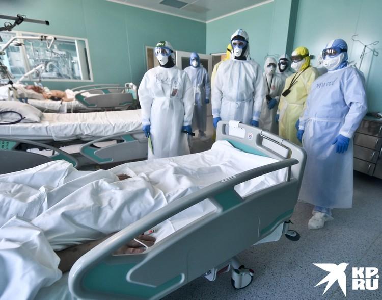 Утро, даже в реанимации, начинается с обхода пациентов. Консилиум. Когда необходим мозговой штурм.