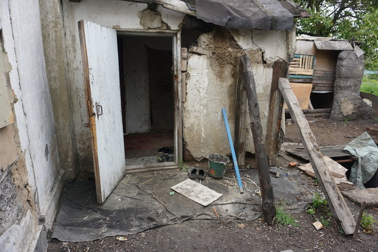 Дом Гончаровых нуждается в капитальном ремонте.
