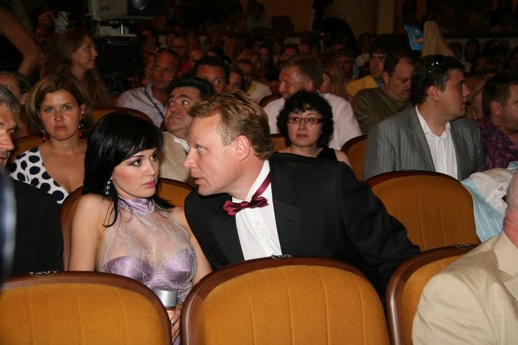 """Заворотнюк и Жигунов были счастливы два года, но расстались с большим скандалом. """"Кинотавр"""", 2007 год."""