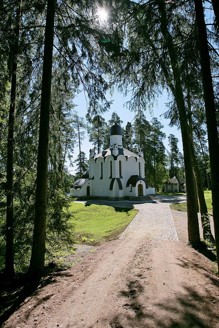 Смоленский скит Валаамского монастыря, Карелия. Фото ИТАР-ТАСС/ Михаил Фомичев