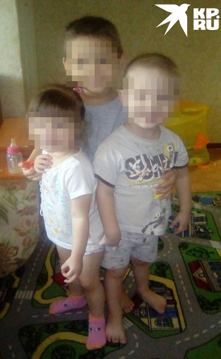 Семья переехала в Новосибирск из села, чтобы заработать денег. Фото: личный архив.
