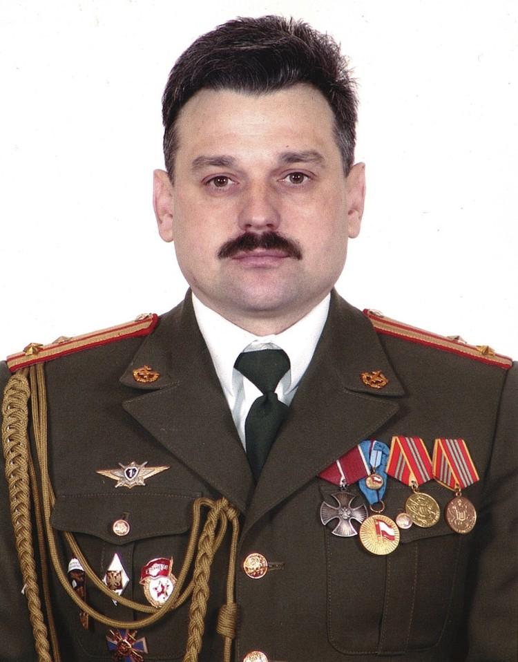 Полковник запаса Алексей Тихонов в 1995 году в Чечне был командиром взвода военной разведки 166-й бригады. Фото: из архива Алексея Тихонова