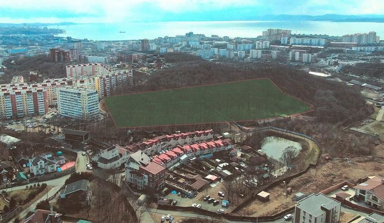 Фото из эскизного проекта строительства группы домов в «Лесном квартале»