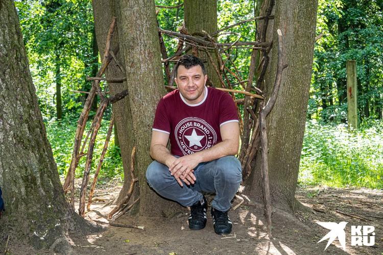 Корреспондент «КП» Александр Рогоза и пирамида йети