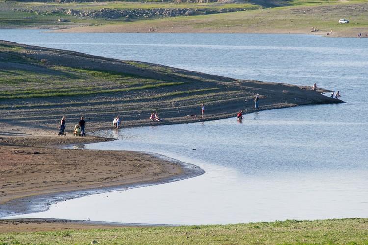 В июне симферопольское водохранилище наполнено на 25%