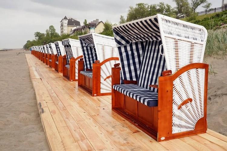 Фишка сезона в Зелноградске – плетеные корзины, как в довоенном Кранце - их купили 30 штук.