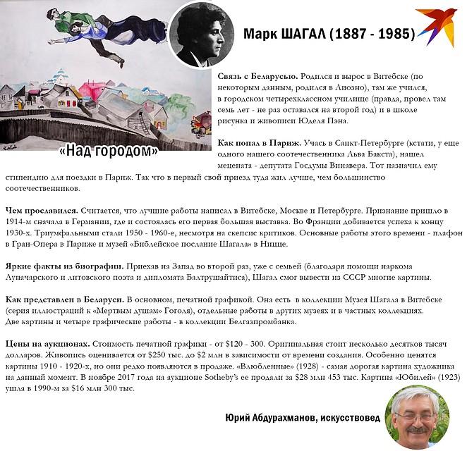 Рассказываем о Шагале. Фото: Игорь СОЛОВЬЕВ