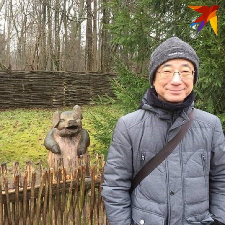 В Беларуси посол Японии полюбил драники и мачанку.