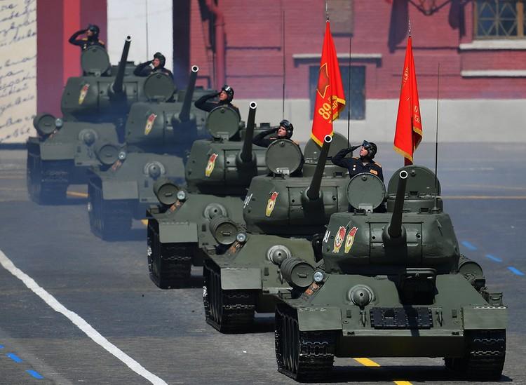 Легендарное оружие Победы - танки Т-34.