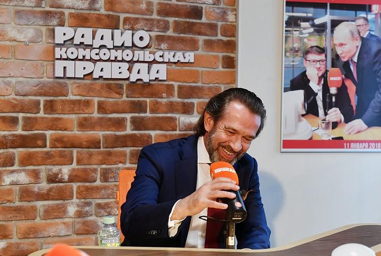Владимир Машков в прямом эфире