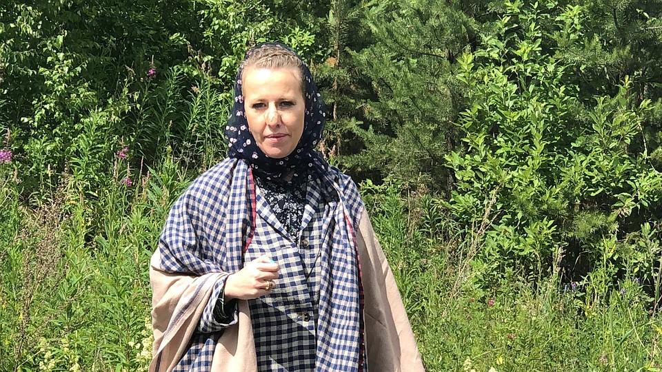 На территорию монастыря Ксении Собчак пришлось прорываться с боем Фото: Олег ГАЛИМОВ