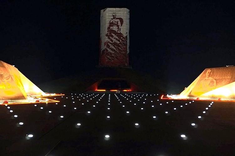 Ночная подсветка. Фото: vk.com/Андрей Коробцов