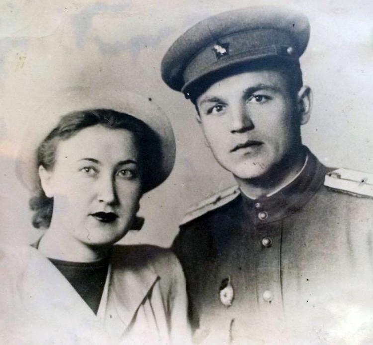 Бабушка и дедушка после войны