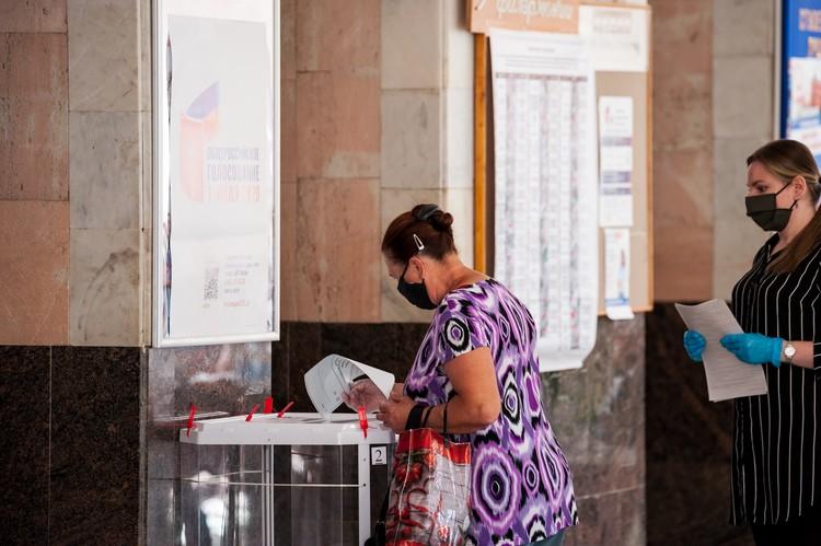 В Орловской области в голосовании приняли участие 467 тысяч 143 человека